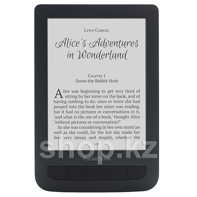 Электронная книга PocketBook 625 Basic Touch 2, Black