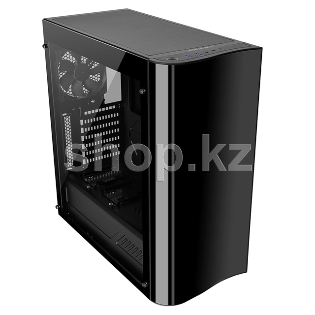 Корпус Thermaltake View 22 TG, Black-Clear