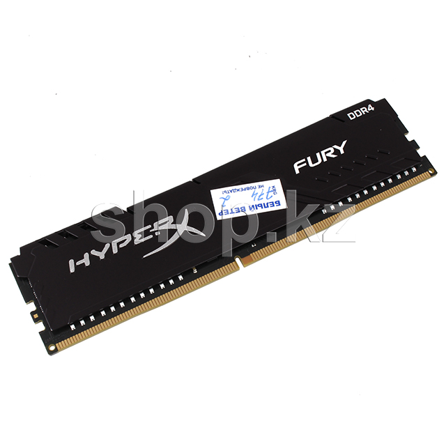 DDR-4 DIMM 8Gb/3600MHz PC28800 Kingston HyperX Fury, Black, BOX