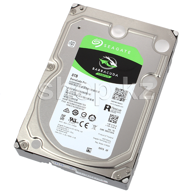 "Жесткий диск HDD 8000 Gb Seagate Barracuda Pro (ST8000DM005), 3.5"", 256Mb, SATA III"