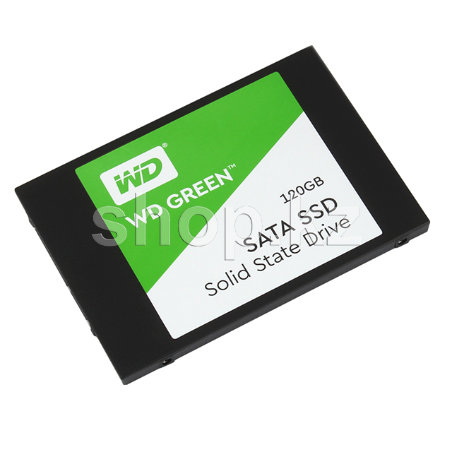 "SSD накопитель 120 Gb Western Digital Green (WDS120G2G0A), 2.5"", SATA III"