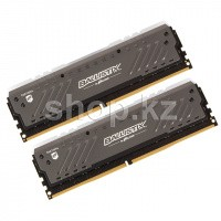 DDR-4 DIMM 16Gb/3000MHz PC24000 Crucial Ballistix Tactical Tracer RGB, 2x8Gb Kit, BOX