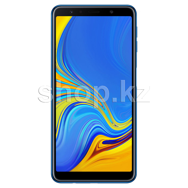 Смартфон Samsung Galaxy A7 (2018), 64Gb, Blue (SM-A750F)