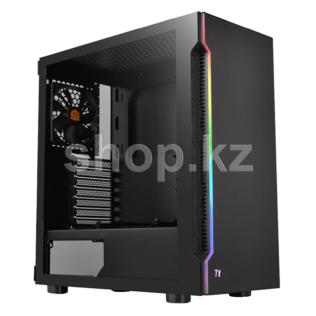 Корпус Thermaltake H200 TG RGB, Black