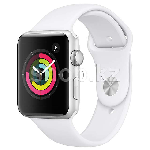 Смарт-часы Apple Watch Series 3, 42mm, Silver-White