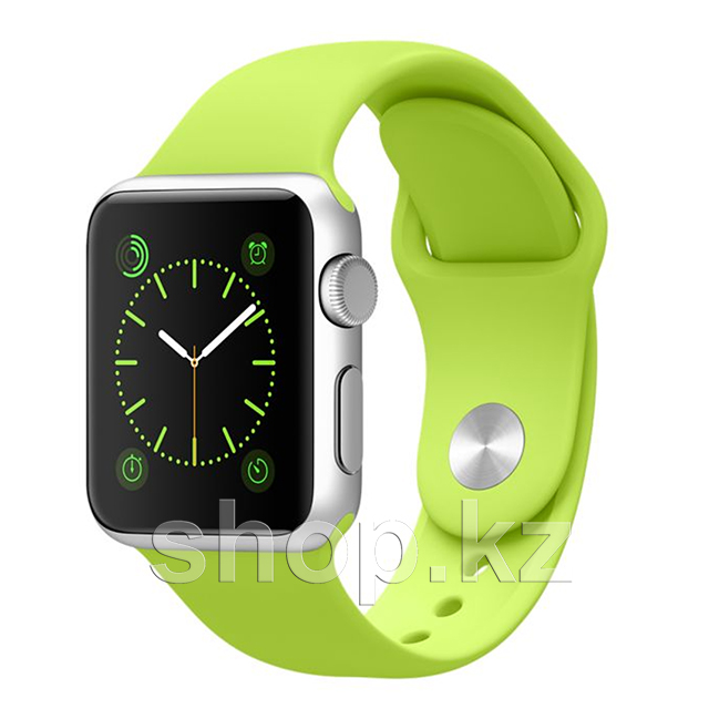 Смарт-часы Apple Watch Sport, 38mm, Silver-Green
