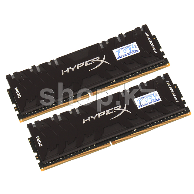 DDR-4 DIMM 16Gb/2933MHz PC23466 Kingston HyperX Predator RGB, 2x8Gb Kit, BOX