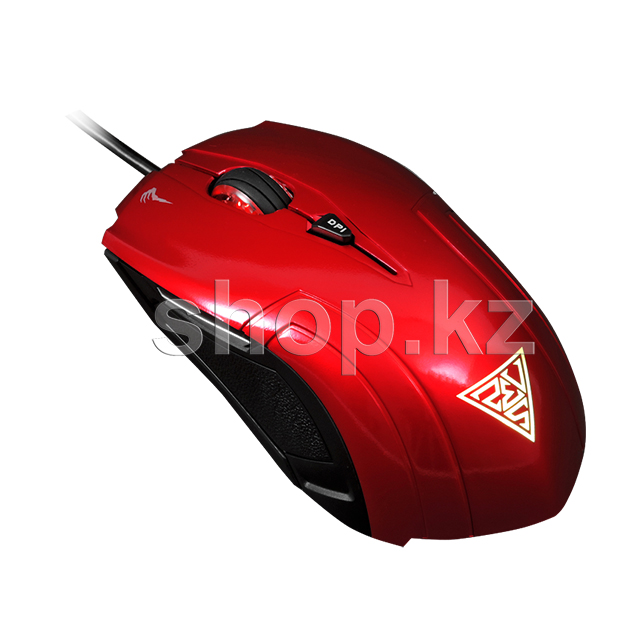 Мышь Gamdias Demeter, Red, USB