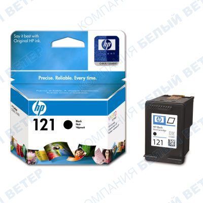 Картридж HP CC640HE No 121, black