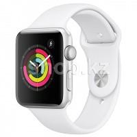 Смарт-часы Apple Watch Series 3, 42mm, Silver-White