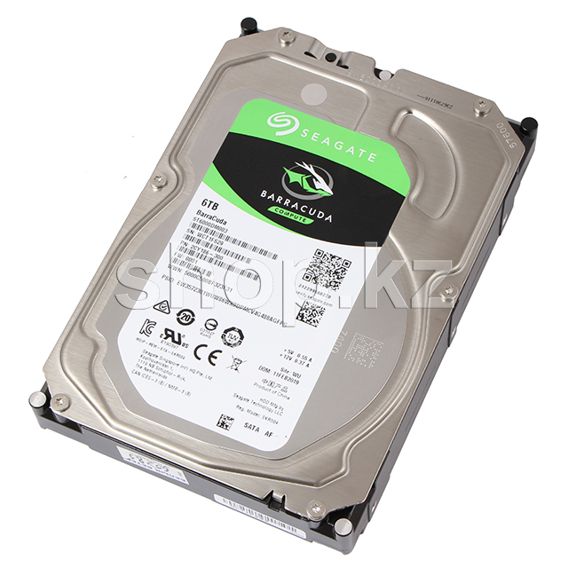 "Жесткий диск HDD 6000 Gb Seagate Barracuda (ST6000DM003), 3.5"", 256Mb, SATA III"
