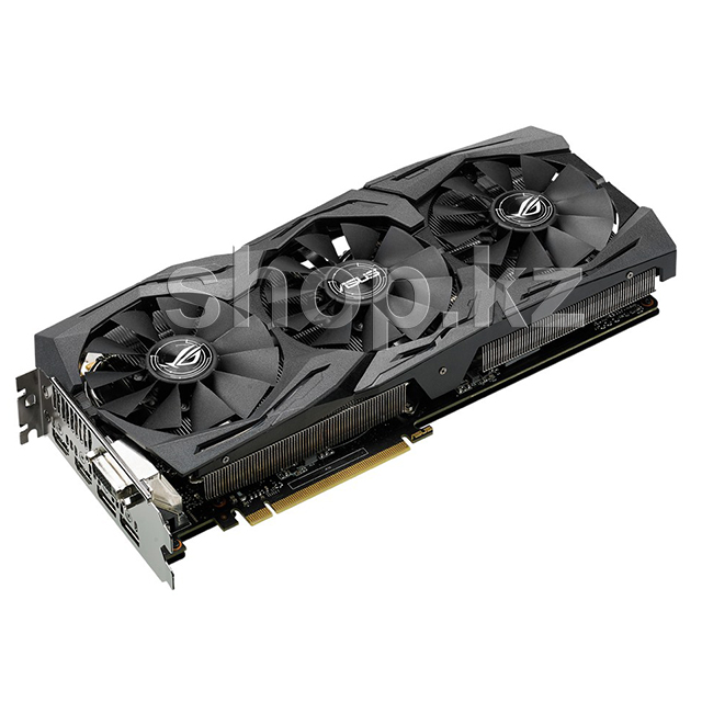 Видеокарта PCI-E 8192Mb ASUS GTX 1070 Strix OC, GeForce GTX1070