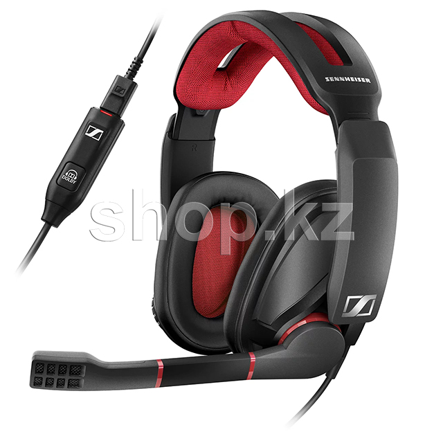 Гарнитура Sennheiser GSP 350, Black-Grey-Red