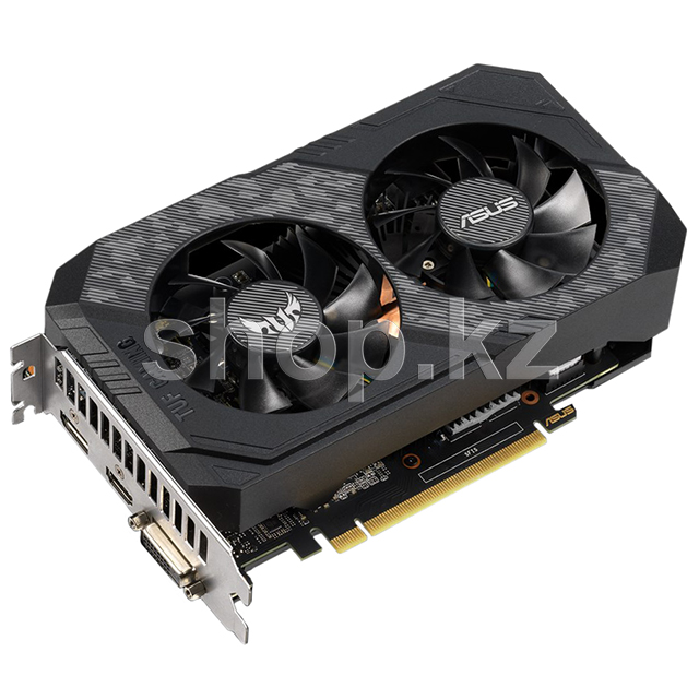 Видеокарта PCI-E 6144Mb ASUS GTX 1660 TUF Gaming, GeForce GTX1660