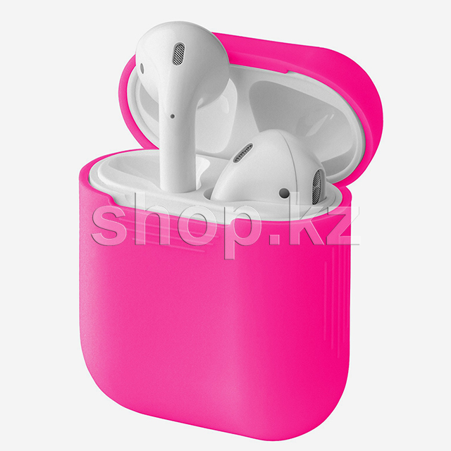 Чехол для AirPods InterStep NP0040O, Fuchsia