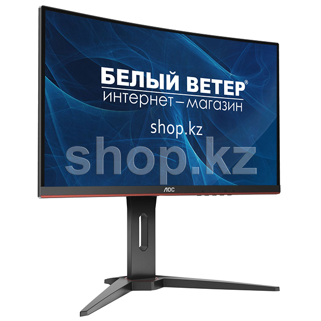 "Монитор 24"" AOC C24G1, Black-Red"