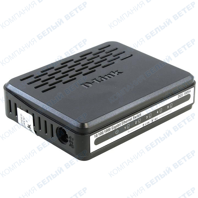 Switch 5 port D-Link DGS-1005A