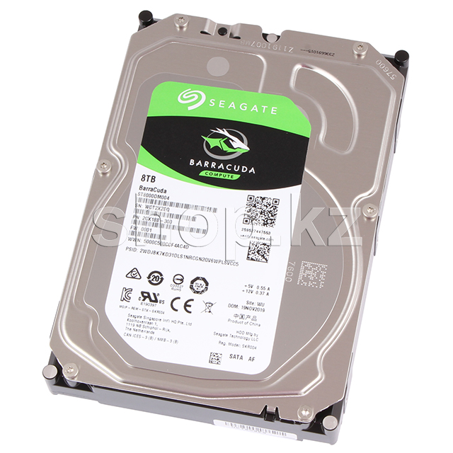 "Жесткий диск HDD 8000 Gb Seagate Barracuda (ST8000DM004), 3.5"", 256Mb, SATA III"