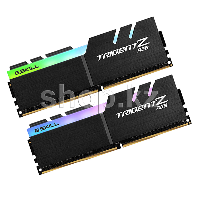 DDR-4 DIMM 32Gb/3200MHz PC25600 G.SKILL Trident Z RGB, 2x16Gb Kit, BOX