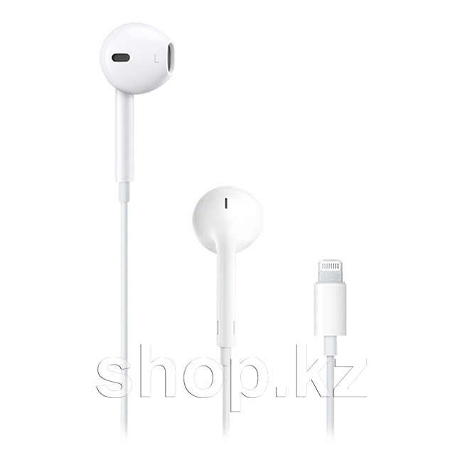 Гарнитура Apple EarPods with Lightning Connector, White