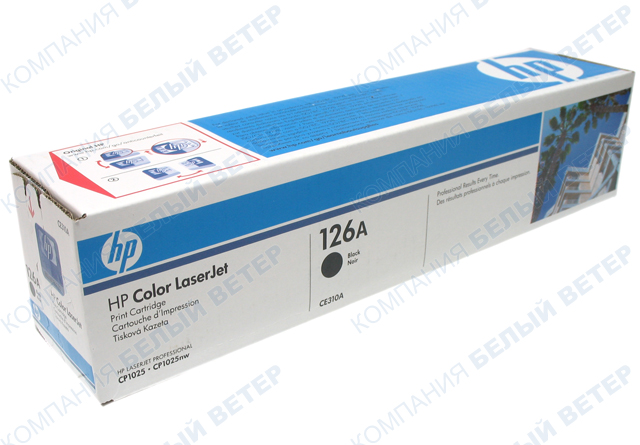 Картридж HP CE310A - Black