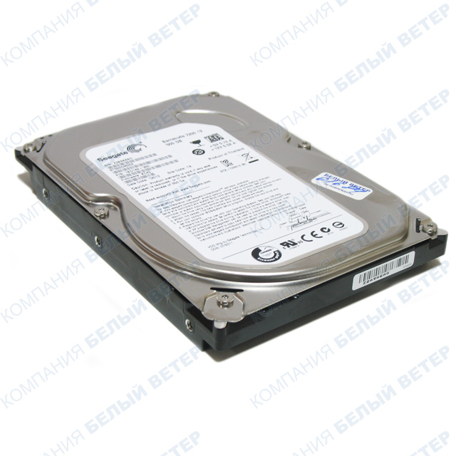 "Жесткий диск HDD 500 Gb Seagate Barracuda (ST500DM002), 3.5"", 16Mb, SATA III"