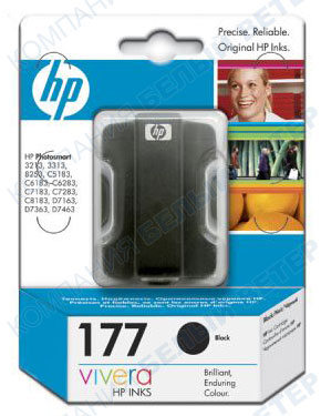 Картридж HP C8721HE No 177, black
