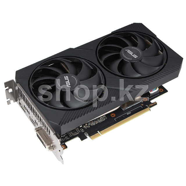 Видеокарта PCI-E 6144Mb ASUS GTX 1660 Super Dual Mini OC, GeForce GTX1660Super