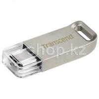 USB Флешка 64Gb Transcend JetFlash 850S, USB 3.1 (Type-C), Silver
