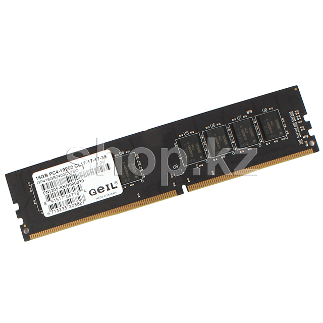 DDR-4 DIMM 16Gb/2400MHz PC19200 Geil Pristine Series, BOX