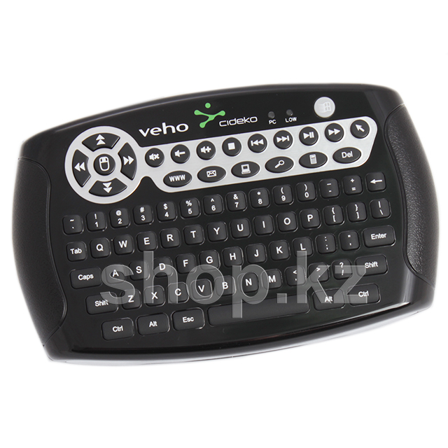 Клавиатура Veho MIMI-KEY-002 Wireless, Black, USB + 3D мышь