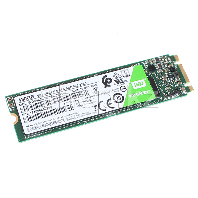 SSD накопитель 480 Gb Western Digital Green,  M.2, SATA III