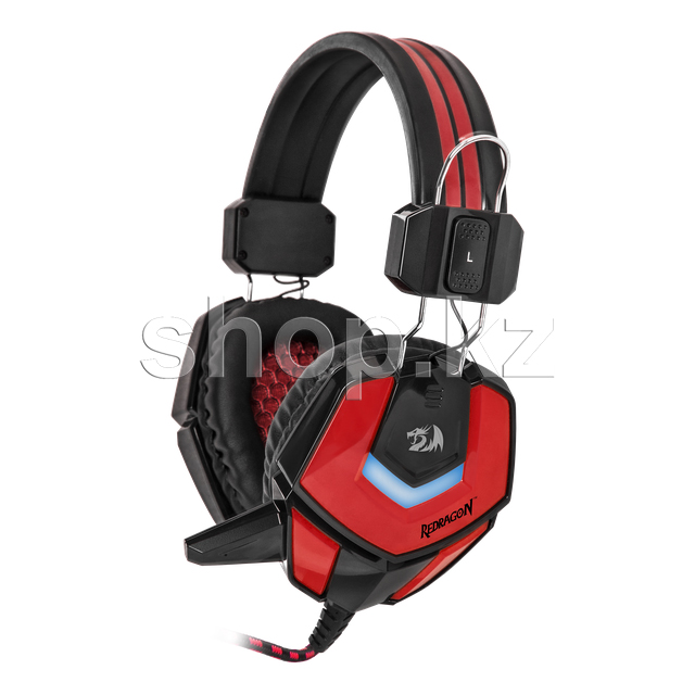 Гарнитура Redragon Ridley, Black-Red