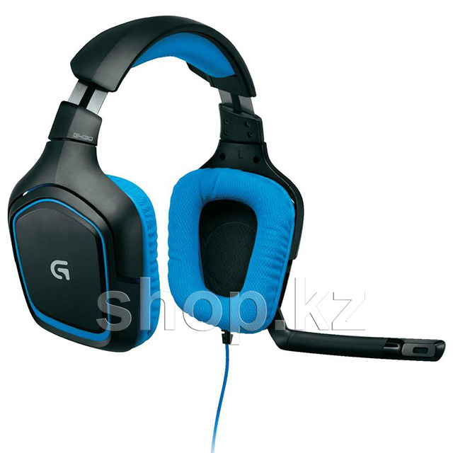 Гарнитура Logitech Gaming G430, Black-Blue
