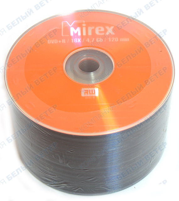 Матрица DVD+R Mirex 4.7Gb, 16x, 50 pcs, Cake (207924)