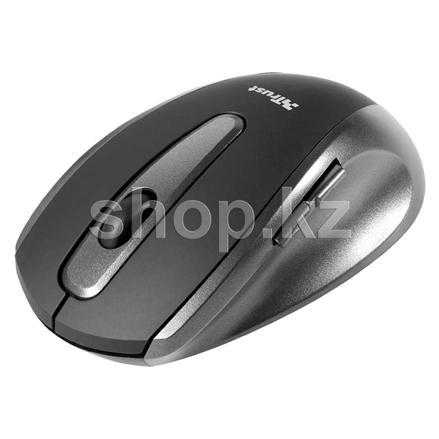 Мышь Trust EasyClick Wireless Mouse, Black, USB