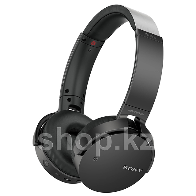 Bluetooth гарнитура Sony MDR-XB650BT Extra Bass, Black