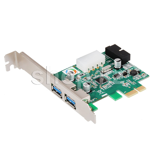 Контроллер PCI-Ex1 to 2хUSB 3.0, Orient VA-3U2219PE