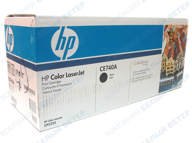 Картридж HP CE740A - Black