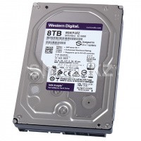 "Жесткий диск HDD 8000 Gb Western Digital (WD81PURZ), 3.5"", 256Mb, SATA III, Purple"
