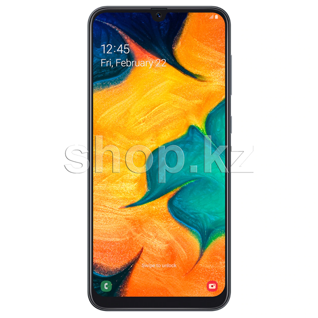 Смартфон Samsung Galaxy A30, 32Gb, Black (SM-A305FN)