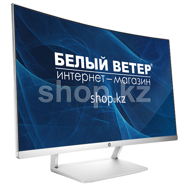 "Монитор 27"" HP Curved, White-Silver"