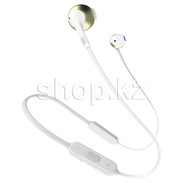 Bluetooth гарнитура JBL Tune 205BT, Gold