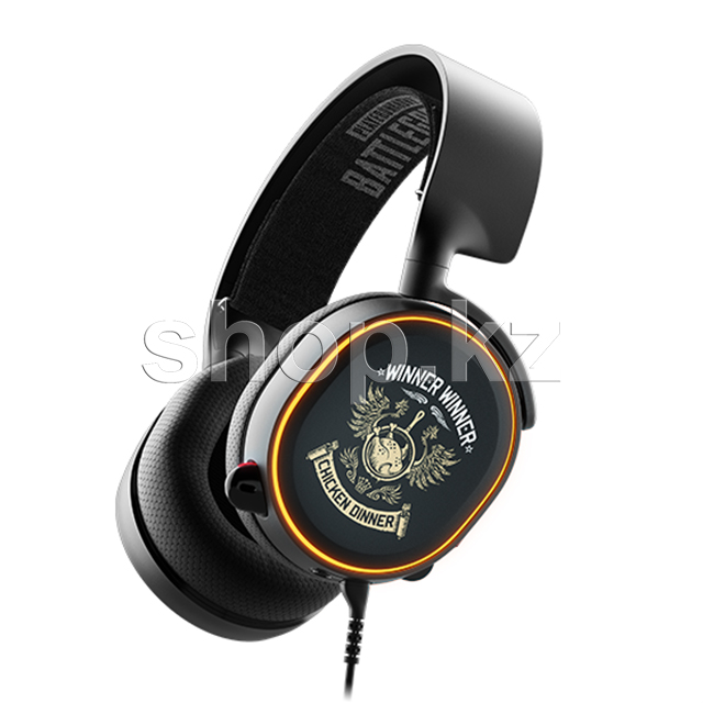 Гарнитура SteelSeries Arctis 5 PUBG, Black
