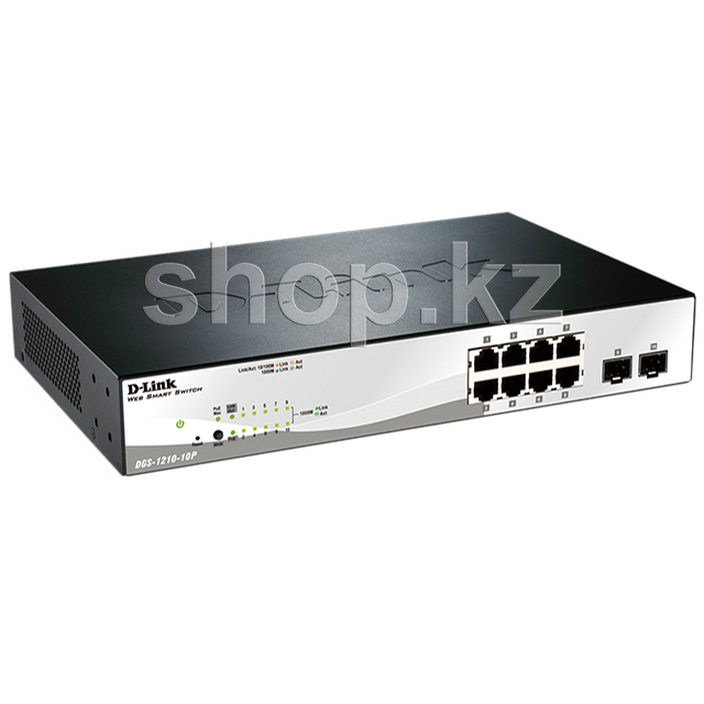 Switch  8 port D-Link DGS-1210-10P