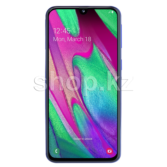 Смартфон Samsung Galaxy A40, 64Gb, Blue (SM-A405FN)