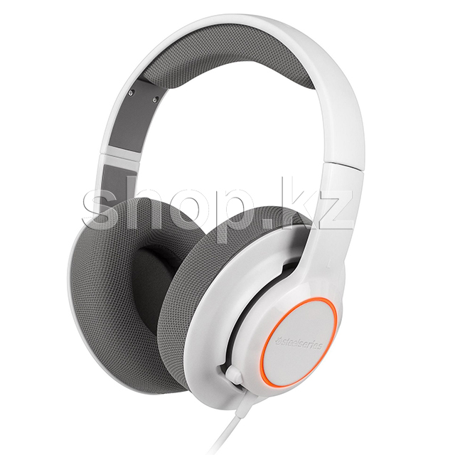 Гарнитура SteelSeries Siberia Raw Prism, White-Gray, USB