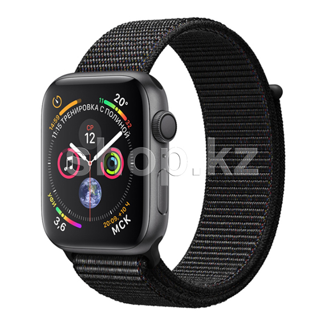 Смарт-часы Apple Watch Series 4, 40mm, Space Gray-Black (MU672)