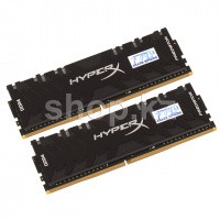 DDR-4 DIMM 16Gb/2933MHz PC23466 Kingston HyperX Predator RGB, 2x8Gb Kit, BOX