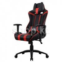 Кресло игровое компьютерное Aerocool AC120 AIR-BR, Black-Red